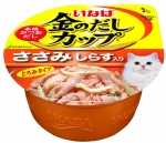 Ciao Kinnodashi Cup Chicken Fillet in Gravy Topping Shirasu Cat Wet Food (IMC145)